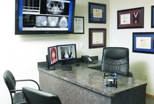 Private Office / A reserved and quiet private office allows the doctor to analyze the overall practice using practice management software, and gives the doctor time to research the newest dental equipment and technology.