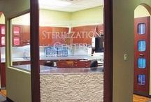 Sterilization Area / Designed to increase efficiency and production within the practice, a sterilization area creates maximum flow for the staff to clean equipment.