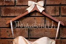 Personalised Bridal Party Coat Hangers