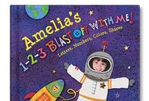 1-2-3 Blast Off With Me Personalized Book / Any boy or girl will have an out-of-this-world time reading 1-2-3 Blast Off With Me. Upload an image of the child and see their smiling face incorporated into every spread! / by I See Me! Personalized Children's Books