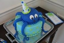 Octopus Birthday Party  / An octopus can make for a fun and unique birthday party theme. Find ideas here to make this under the sea celebration a very fun one! / by Jennifer (DesignsByNyxxie)