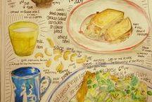 Art - Sketching:  Food & Drink