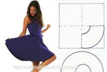 SEWING PATTERNS #1(DRESS) / by Sonia Lopez
