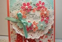 Cardmaking - Paper Doilies