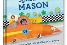 Speedster Personalized Book / Speed racers will love the thrill of seeing their own name—and favorite color—on every page of this book!