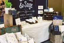 Craft Fair Ideas / Board for ideas for setting up a booth at a craft fair / by Dawn Green