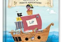 My Pirate Adventure Personalized Book / Make your little pirate the star of the story with this fully personalized adventure on the high seas.
