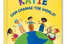 I Can Change The World Personalized Book / An uplifting personalized book that inspires your child to spread kindness and give back to others. Even a small child has the ability to change the world!