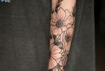 Forearm Wrap Tattoo