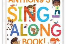 My Sing-Along Songs Book and Personalized Music CD / A delightful personalized book, personalized music CD and MP3 digital download of the music, all personalized with your child's name throughout the text and music!