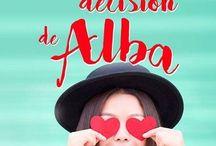 La decisión de Alba / personajes del libro