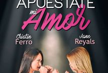 Apuéstate mi amor / Los personajes de la novela Apuéstate mi amor de Jane Reyals & Cristin Ferro