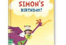 It's My Birthday! Personalized Book / Celebrate your child's birthday with a larger-than-life, extra-galactic adventure with Buzzy the Bird in this uniquely personalized storybook featuring your child's name and photo throughout the story and illustrations.   #iseemebooks #personalizedbooks #personalizedgifts #personalizedbabygifts
