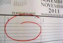 Like December isn't busy enuf!!! / by Catherine Bost