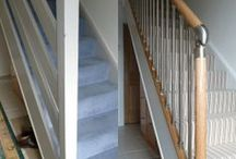 Before & After / How Richard Burbidge stairparts can completely transform the tired, dated look of a hallway into something special...