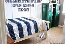 Boys Rooms Inspiration / Preppy. Nautical. Sporty. Vintage.