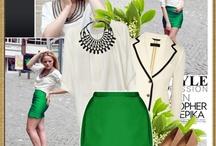 FASHION / I admit i love fashion, so fashion lovers lets do it , keep it nice and cool.