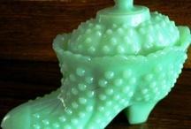 Vintage Fenton Hobnail Art Glass / My fave fave fave vintage art glass!