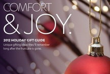 Holiday Gift Guide 2012 / Unique gifting ideas they'll remember long after the fruitcake is gone.