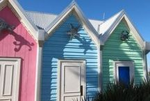 Cabanas or Beach Huts / by Nancy King