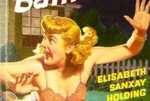 Vintage PULP FICTION ...  / back when a good read had an even better cover image!