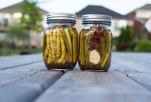 Putting down the harvest / methods of storing and preserving tasty goods / by Yvette Roy