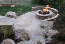Decks and Patios / Deck/Patio options and ideas / by Amber Stewart Poole