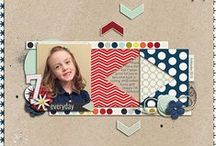 2015 Scrapbooking Layouts / My digital scrapbooking layouts created in 2015