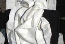 my handmade felt scarves
