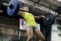 Crossfit obsession  / constantly varied, high intensity, functional movement / by Sabrina Felker