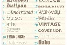 Designspiration: Fonts / Fabulous font finds