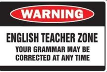 English Teacher Humor / To post on my classroom door for the amusement of students, teachers, or just my nerdy self / by Megan Brown
