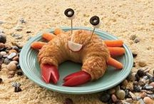 Fun Food Art / We're all about getting kids to eat healthy, and food art makes meals fun!  / by Funley's Delicious