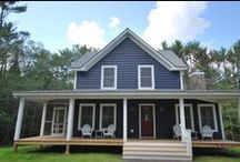 """2015 Houses / Catskill Farms builds """"New Old"""" farmhouses, cottages, barns, mid-century ranch and tiny homes in Sullivan, Ulster, and Rhinebeck Counties, NY"""