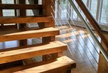 Our Favorite Stairs / http://thecatskillfarms.com/gallery-handrails-and-stairs