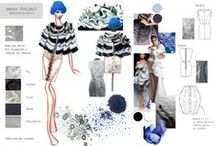 Modartech Water inspiration / Fashion Illustration-Student work