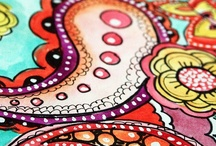 doodling the day away / by Susan Moulton