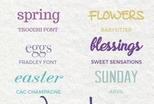 Fonts for Blog Design / Tons of Fonts! Grow your blog audience | Make more money blogging with a gorgeous design. Be inspired!