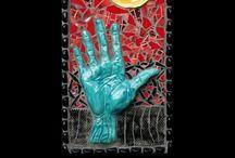 Glass & mosaic / by Nanette Bratton