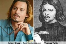 Time-Traveling Celebrities / Celebrities who look like People from the Past