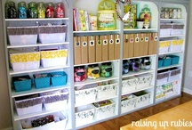 Organization / How to store stuff / DIYs / Clever Ideas for an organized life!