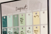 Schedule / How to plan your life / Printables for that matter