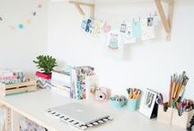 Work Space / by Sunny Staab