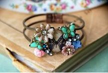 Shiny trinkets and baubles / Jewelry and jewelry making ideas / by Kathy Dorris