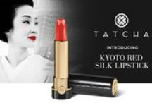 TATCHA Kyoto Red Silk Lipstick / Introducing the Limited Edition Kyoto Red Silk Lipstick.  The geisha discovered the striking beauty of richly hued red lips centuries ago. Tatcha has remastered this iconic shade with a thoroughly modern, universally flattering formula perfect for every skin tone.
