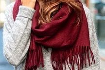 Style::Scarves / A scarf finishes an outfit whatever the season / by Glamour in the County