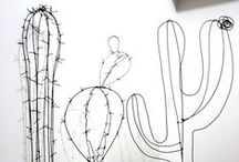 Cactus & Succulents / Love for cactii and succulents. Plants and art prints for the home.