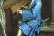 Musica della´1700 / Musical life between 1700 - 1799 - artwork depicting music in the 18th century. ( - authentic period images - )