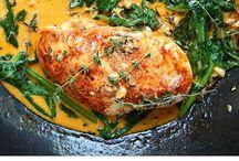 Dinner Inspiration / What's for dinner? Dinner ideas, main meals, weekly dinner recipes, family dinner ideas, easy dinner for family