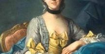 18th century Ladies / Woman´s Beauty 1700 - 1799, period portraits